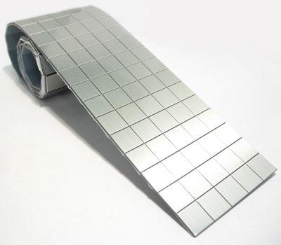 Quot Brushed Aluminum Quot Microflex Tile Roll 2 Quot X 19 Quot In 2019