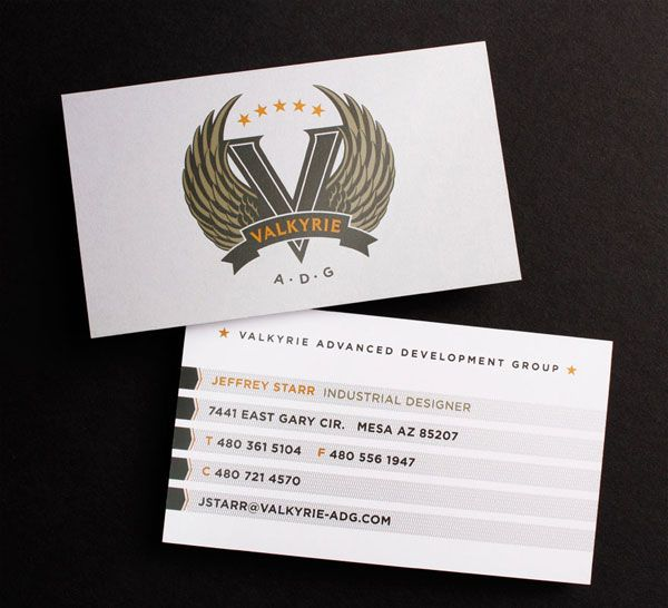 45 business card design inspiration 2013 business cards business valkyrie business card reheart Gallery