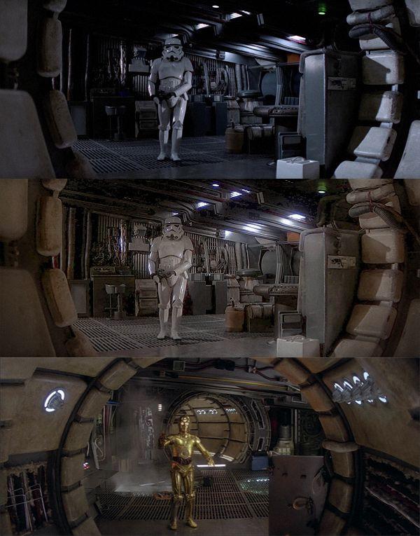 Millenium Falcon Interior