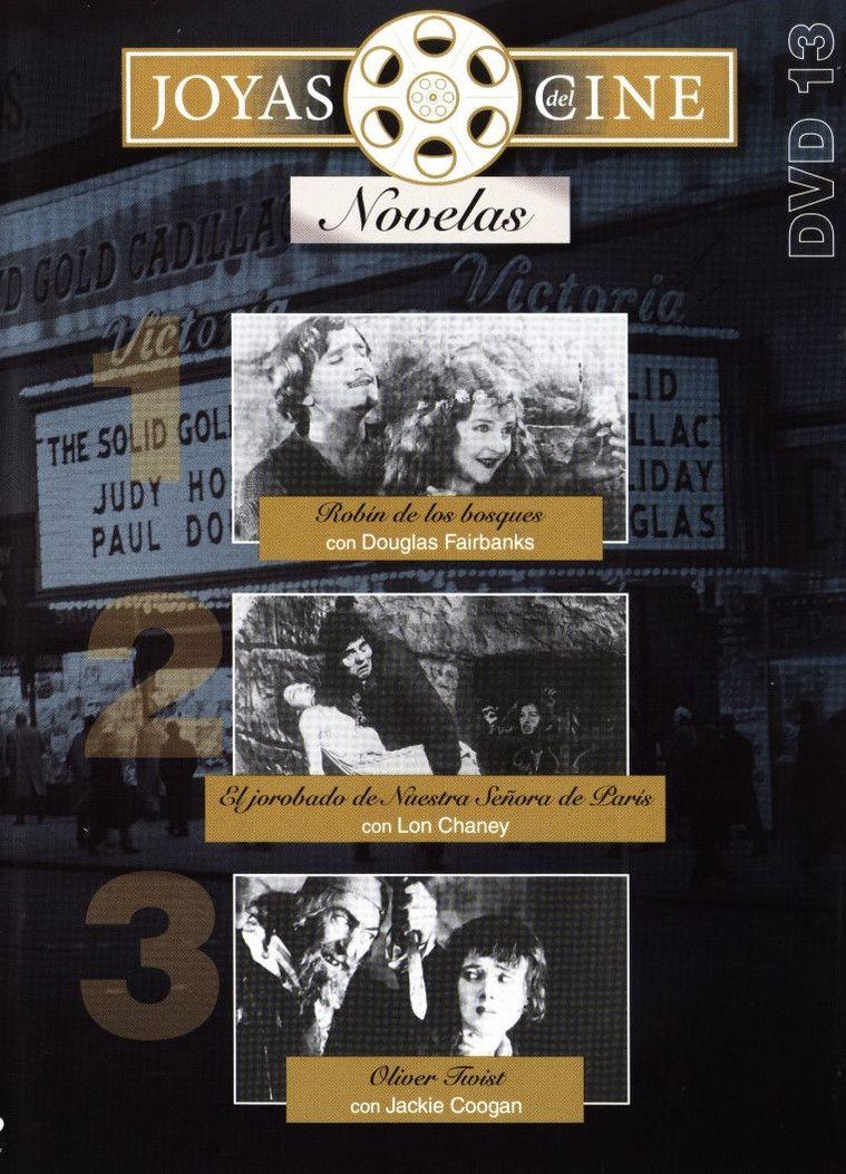 Robín de los bosques / directed by Allan Dwan. El jorobado de nuestra señora de París = The hunchback of Notre Dame / directed by Wallace Worsley. Oliver Twist / directed by Frank Lloyd: http://kmelot.biblioteca.udc.es/record=b1484228~S1*gag
