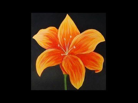 U Tube Easter Acrylic Painting Flowers