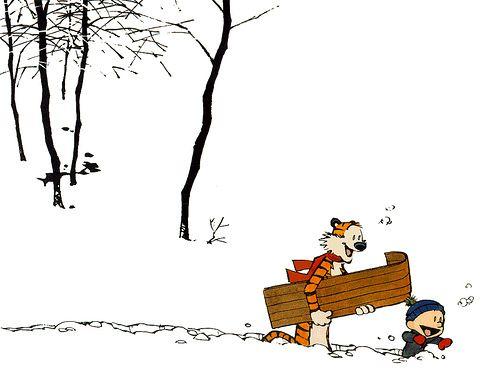 Calvin And Hobbes Snow Day Calvin And Hobbes Wallpaper Calvin