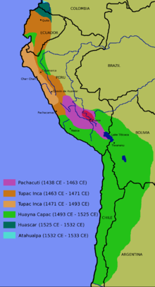 P The Inca Empire Was The Largest Empire In Pre Columbian America