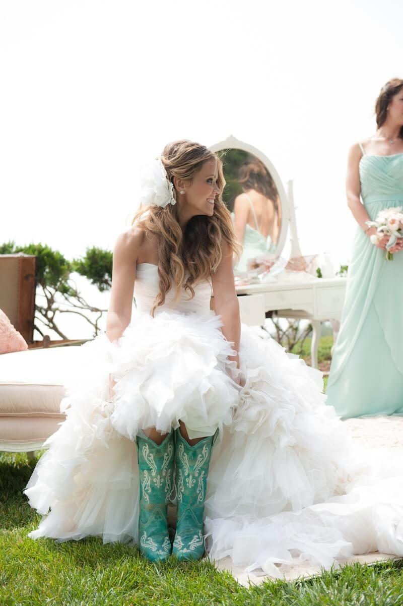 best country chic wedding dresses rustic u western wedding
