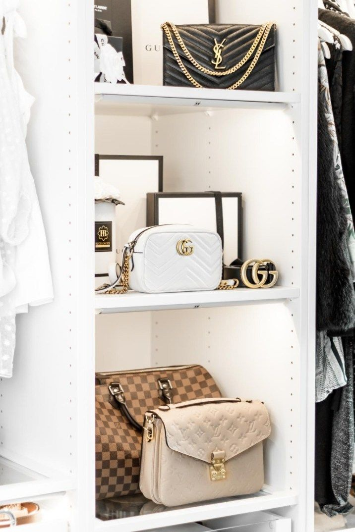 Luxury Bag Closet from My Philocaly