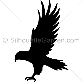 hawk silhouette clip art download free versions of the image in eps rh pinterest com
