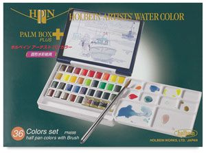 Holbein Artists Watercolor Half Pans And Sets Watercolor Paint