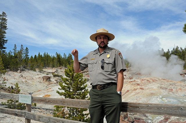 6 Alex Is A Park Ranger At Yellowstone National Park He Patrols An Area Of Approximately 5 000 Acres D Park Ranger Yellowstone National Park National Parks