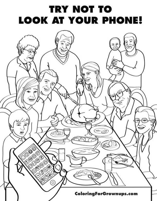 This Funny Coloring Book For Adults Mocks Grown Up Life Via Brit Co