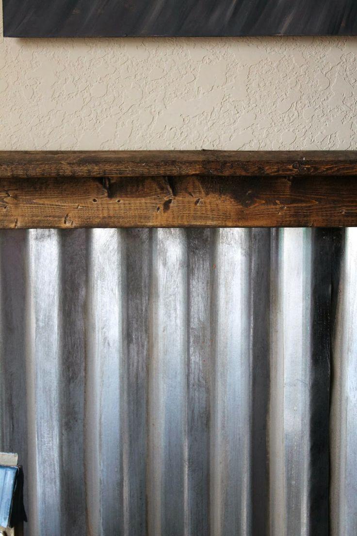 Corrugated Metal Walls on Pinterest Corrugated Metal