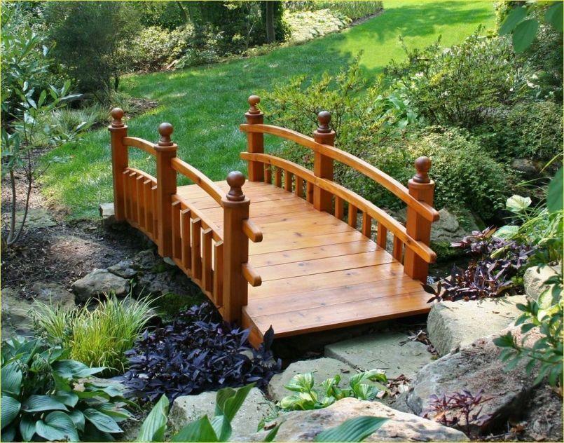 50 Stunning Small Backyard With Bridge Ideas Decor Renewal Garden Bridge Design Backyard Bridges Garden Bridge