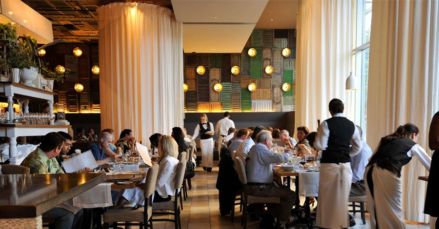 Ella Dining Room In Sacramento Is Located Right Under Our Office Inspiration Ella Dining Room & Bar Inspiration Design