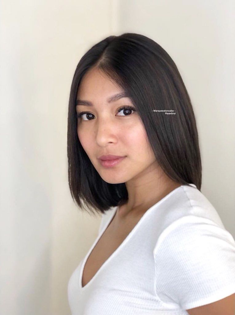 Nadine Ctto Lady Luster Short Hair With Layers Nadine Lustre