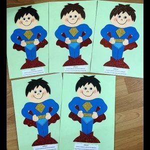 Superman Craft Idea Superman Crafts Kid Character Preschool Crafts