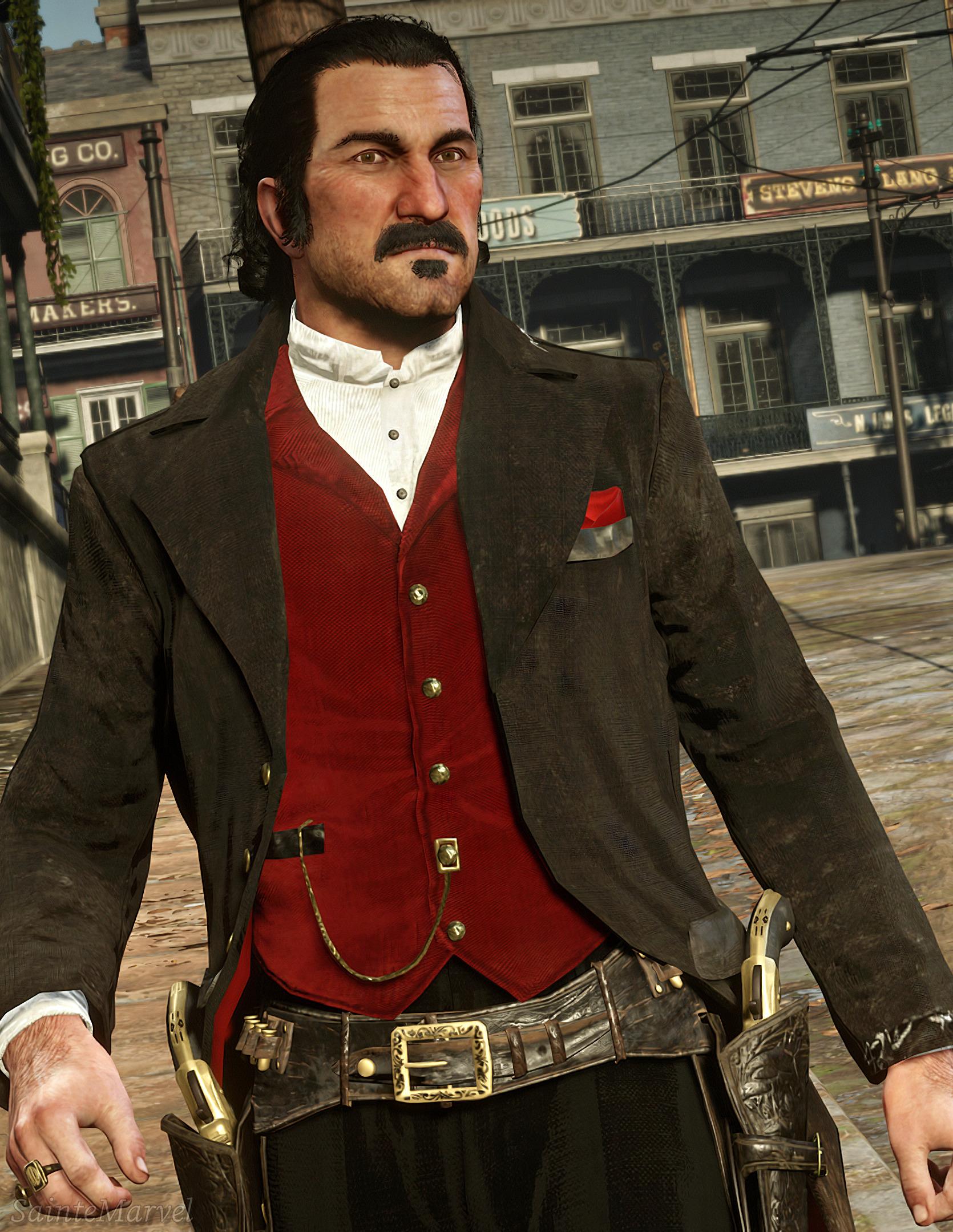 Dutch Van Der Linde Clothes