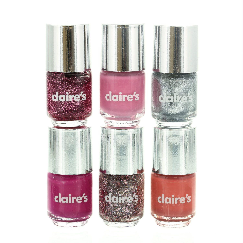 6 Pack Princess Nail Polish | Claire\'s | Nail Care & Beauty | Pinterest