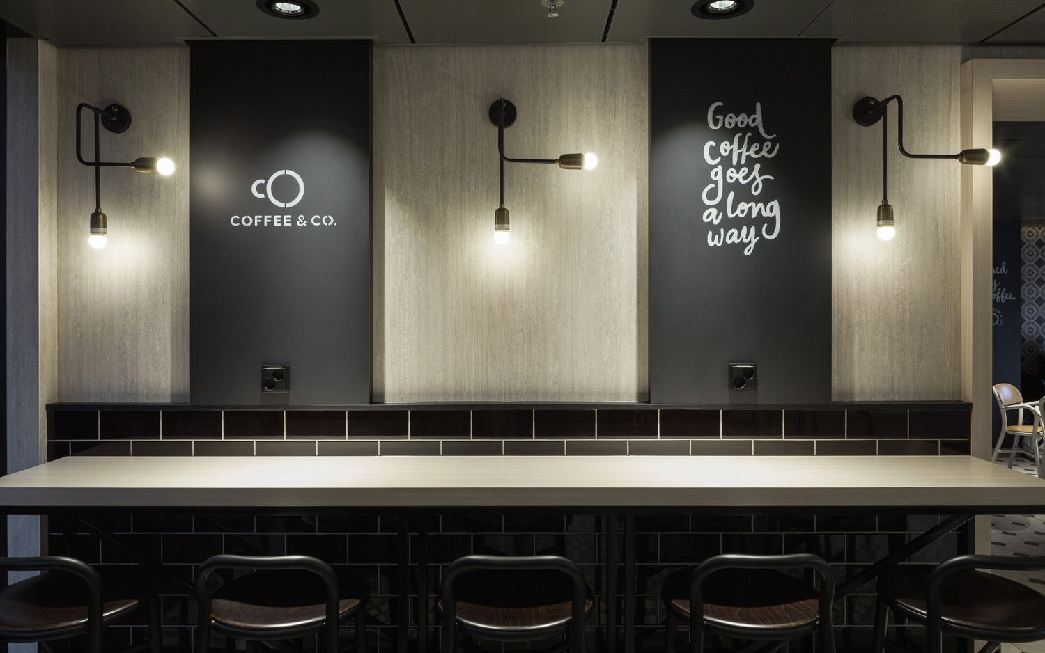 New Brand Identity For Coffee Co By Bond Bp O Cruise Ships Graphics And Coffee