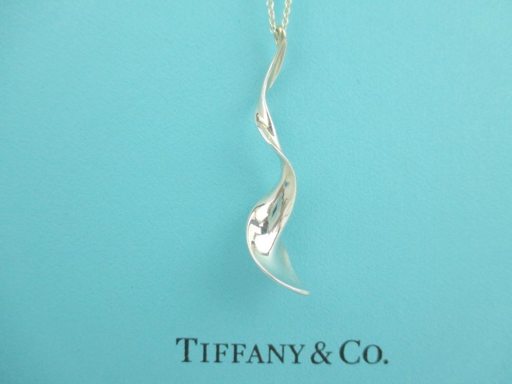 04b32115c Tiffany & Co. Frank Gehry Orchid Pendant with Chain Sterling Silver # TiffanyCo #Pendant