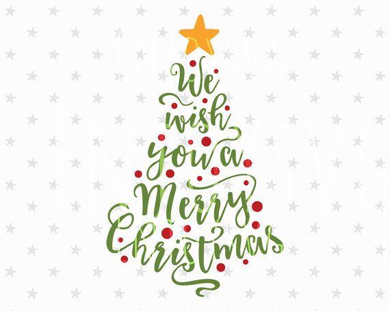 Christmas Tree Svg Merry Christmas Svg Christmas Svg Christmas Etsy Christmas Svg Files Christmas Lettering Christmas Svg