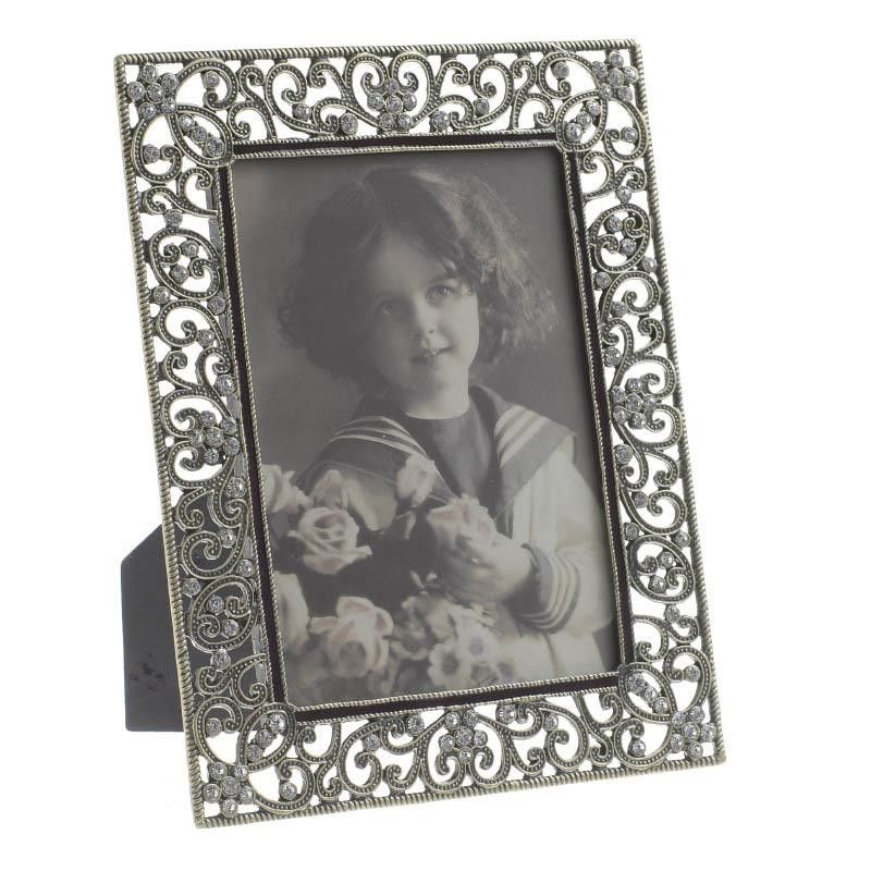 Photo Frame 10x15 Cm Frames Metal Frames Albums Inart Frame Photo Frame Metal Frame