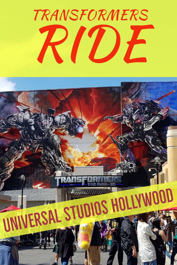 Photo of Transformers Ride Universal Studios Hollywood!