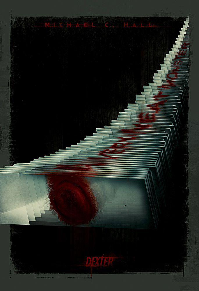 Dexter The Slides By Raj Khatri Dexter Poster Dexter Pop Culture Art