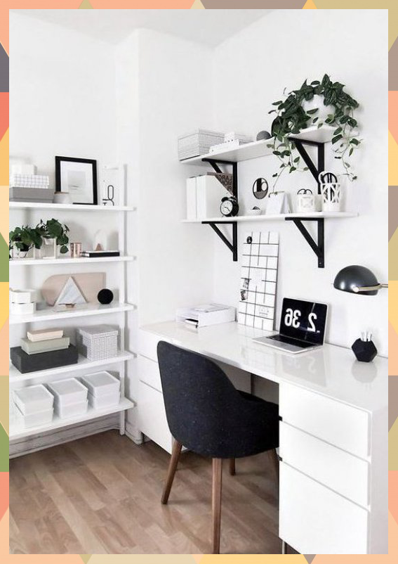 50 Home Office Design Ideas That Will Inspire Productivity In 2020 Bedroom Decor Inspiration Minimalist Home Interior Minimalist Room