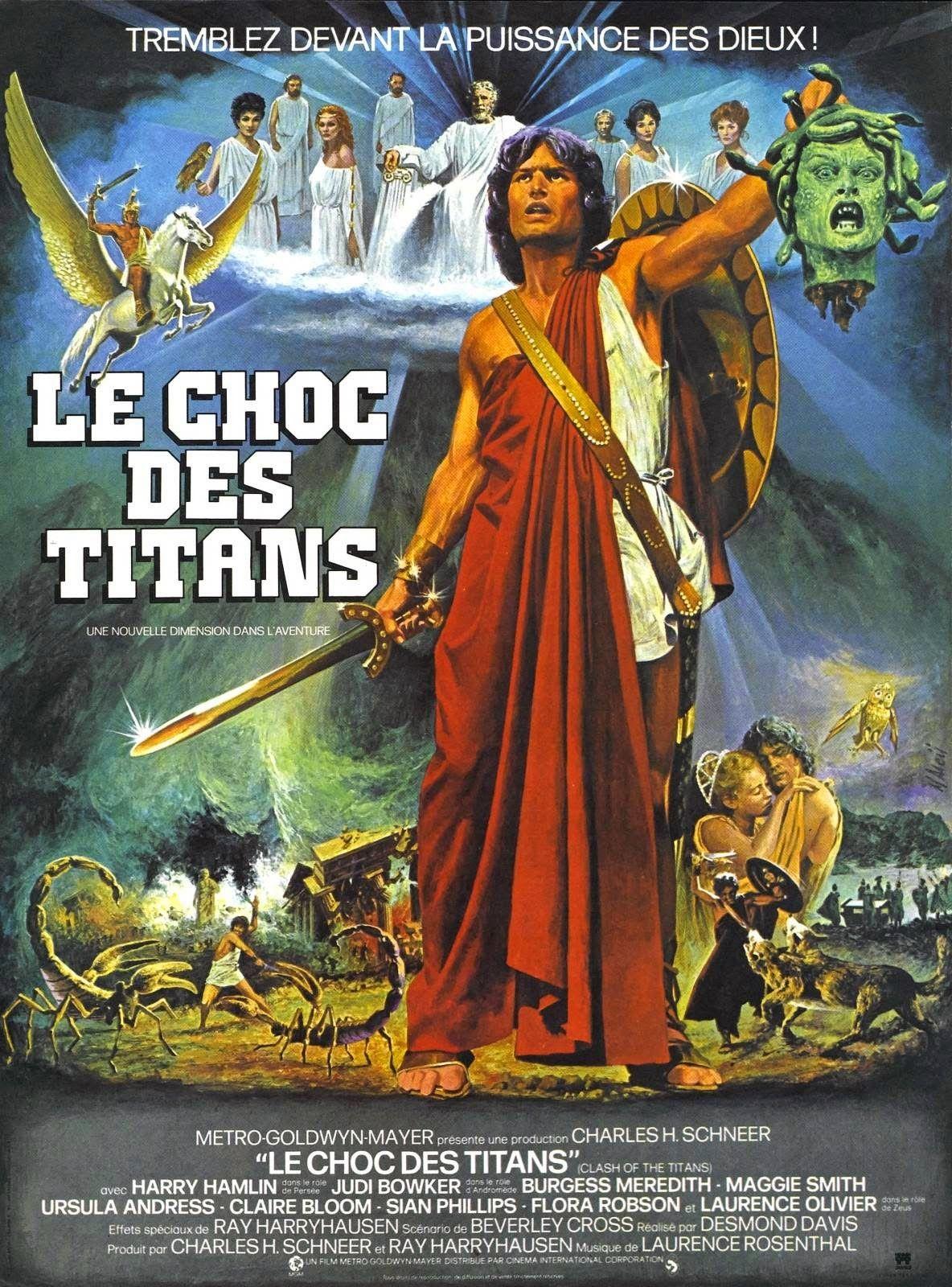 Le Choc Des Titans Streaming : titans, streaming, Harryhausen's, Clash, Titans, (1981), Titans,, Fantastique,