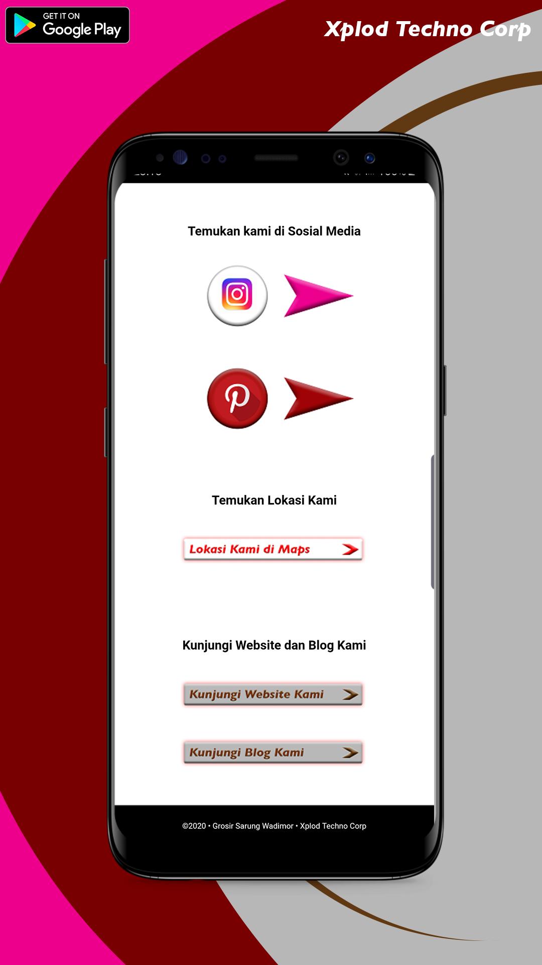 Aplikasi Grosir Sarung Wadimor Katalog Produk Sarung Wadimor Dari Developer Xplod Techno Corp Solo Aplikasi Smartphone Google Play