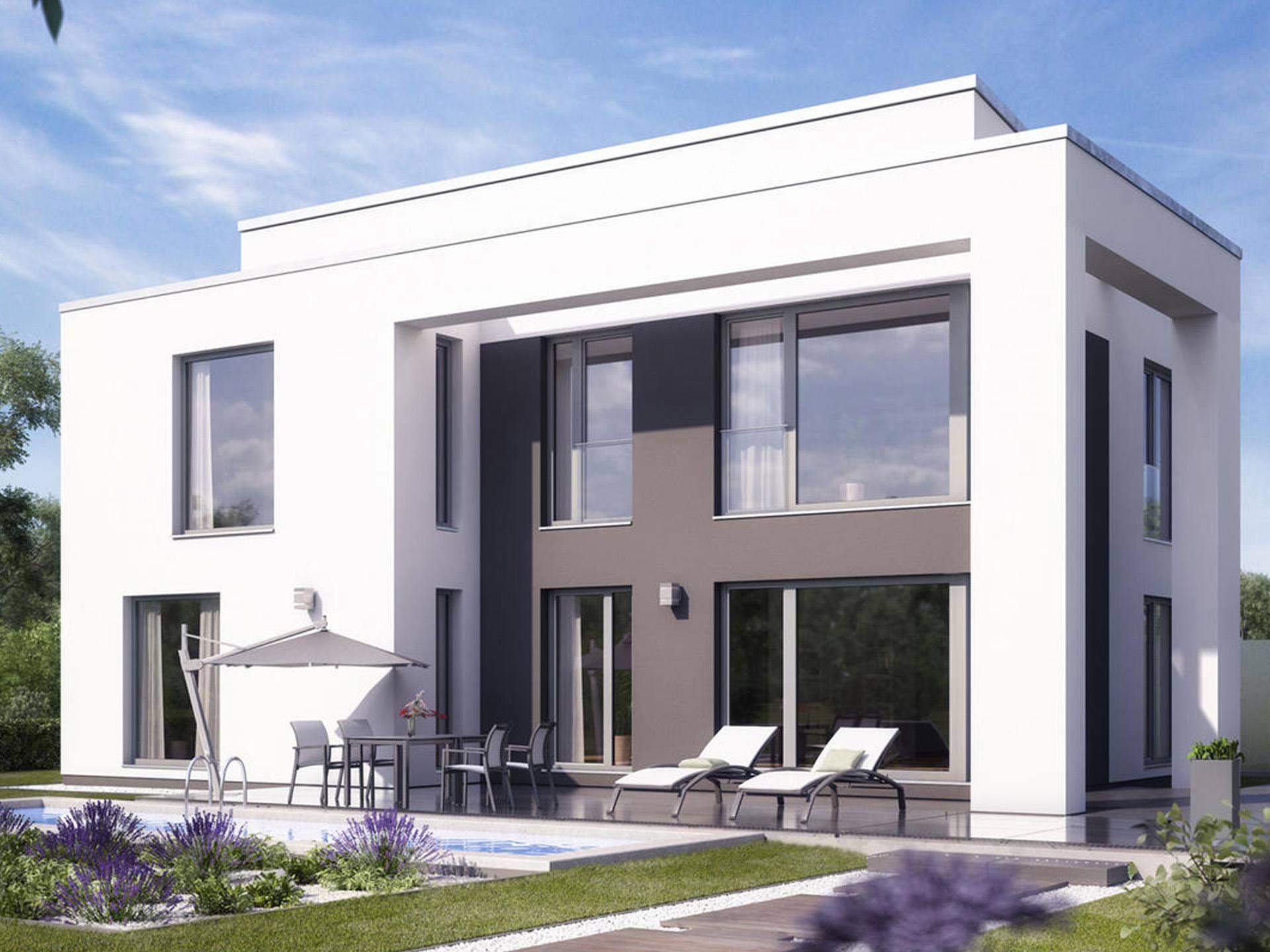 cirro bauhaus cubus von heinz von heiden exklusives einfamilienhaus mit raumhohen. Black Bedroom Furniture Sets. Home Design Ideas