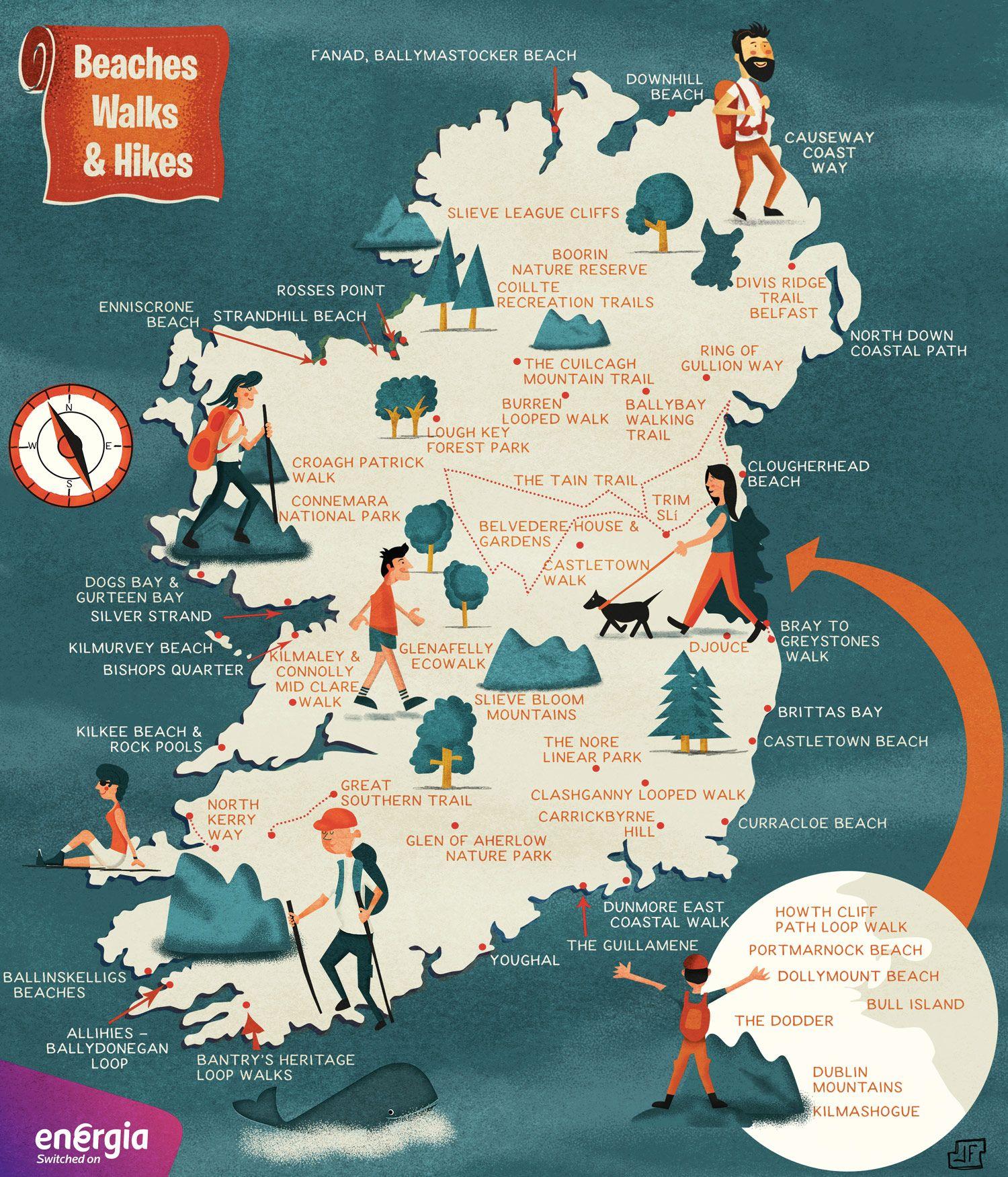 Die Besten Wanderungen Und Schonsten Strande In Irland Irland