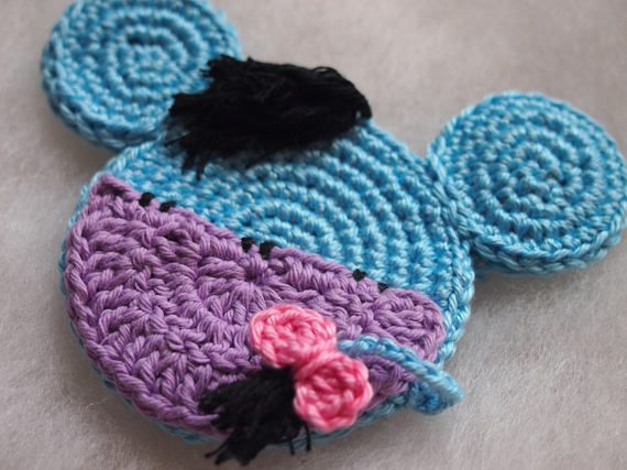 Mickey Mouse crochet pattern Eeyore from the Winnie the Pooh ...