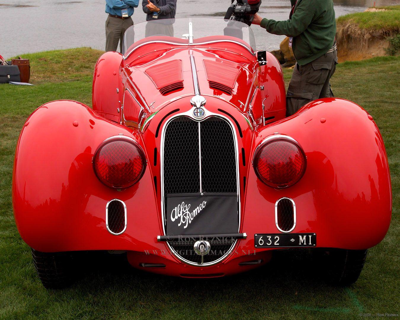 1938 Alfa 8c 2900b Mille Miglia Touring Spider