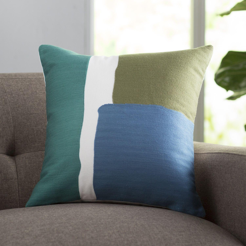 langley street chandler cotton throw pillow  allmodern  erika  - langley street chandler cotton throw pillow  allmodern