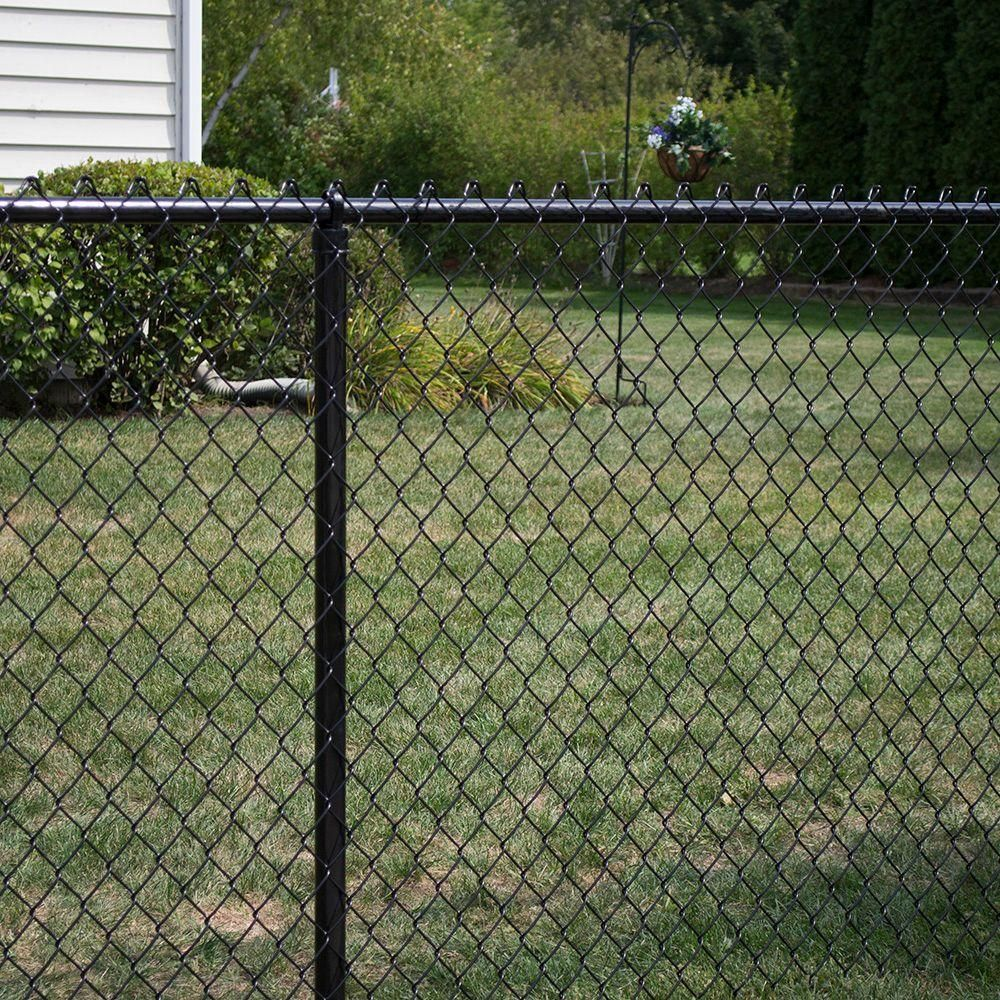 Pin By Staci Esmon On House In 2020 Black Chain Link Fence Chain Link Fence Chain Link Fence Gate