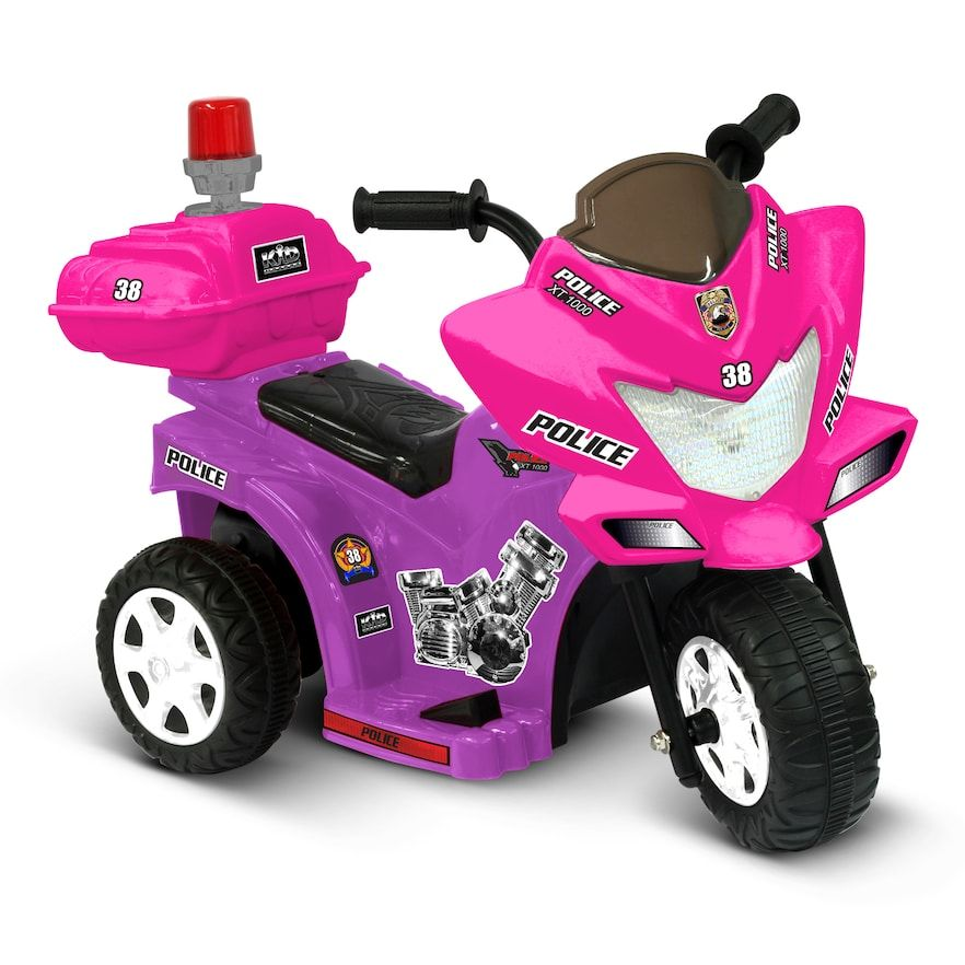 National Products 6V Police Tricycle RideOn Ride on