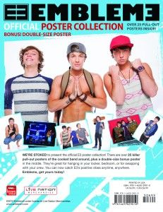 Emblem 3 Official Poster Collection