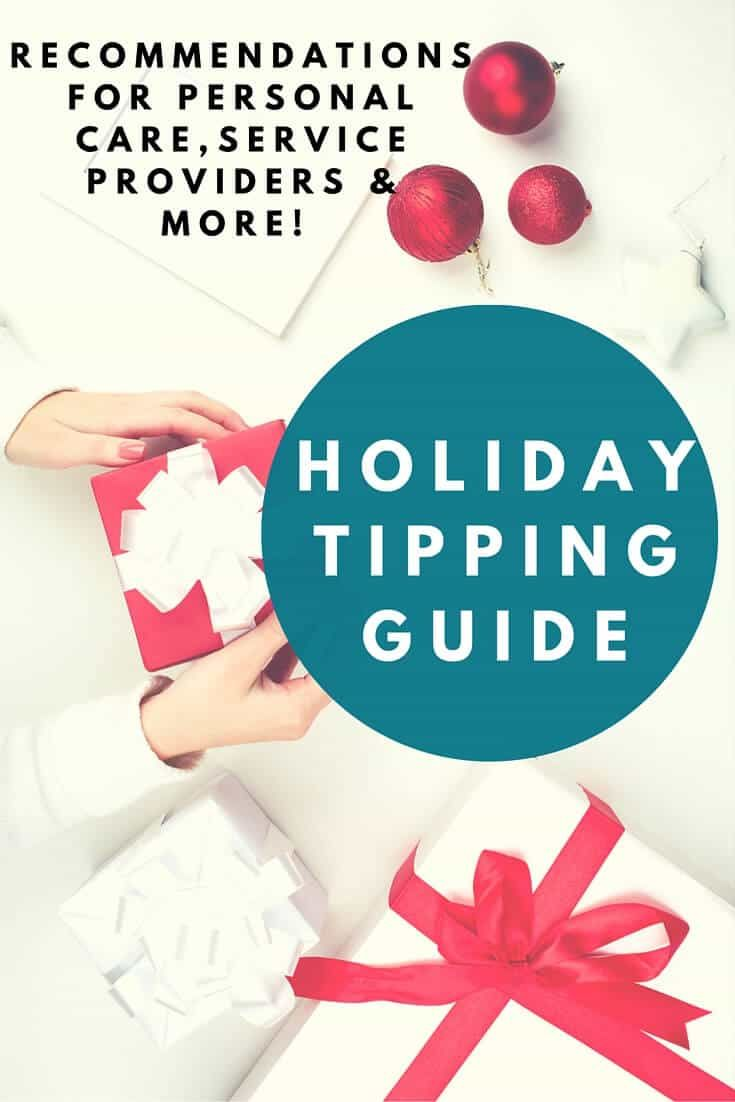 holiday tipping guide know how much to tip your hair stylist babysitter mail carrier trainer and more this will answer your how much do i give - How Much To Tip Hairdresser At Christmas