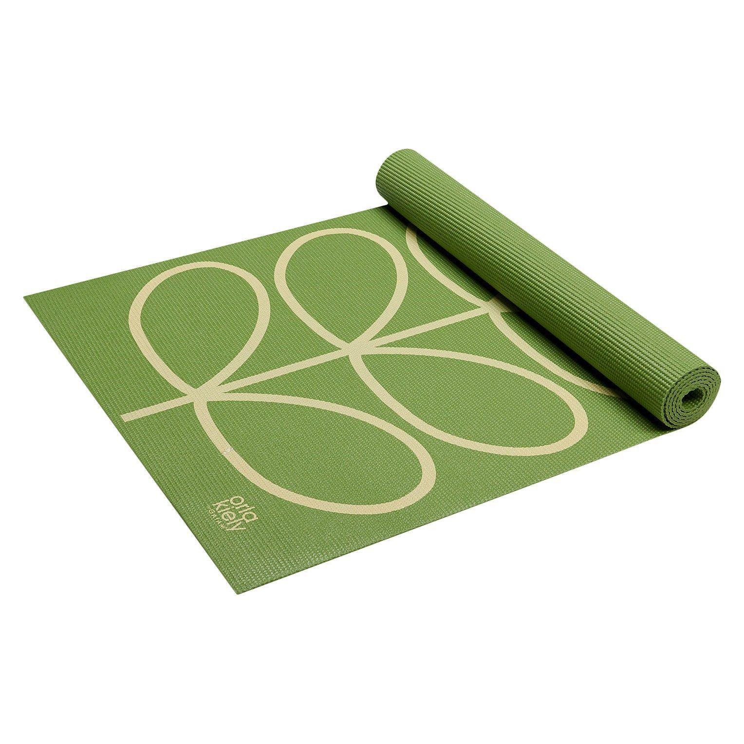 Orla kiely by gaiam linear stem apple yoga mat : target gifts
