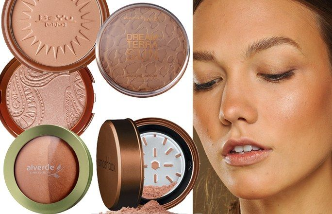 Zarte Bräune mit Bronzer - Sommer Make-up: Die Must-haves