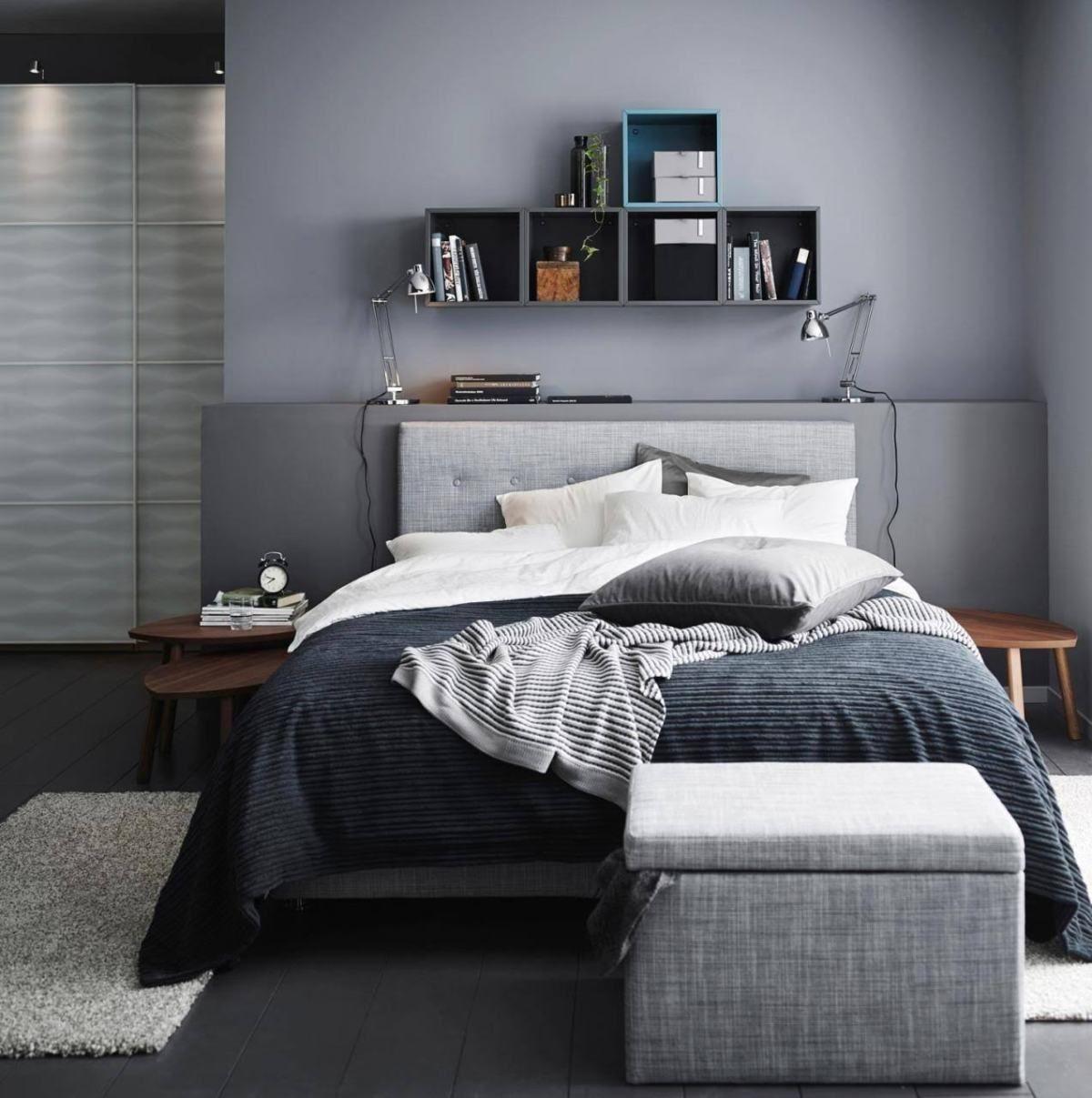 Exceptionnel Die Farbe Grau Im Schlafzimmer