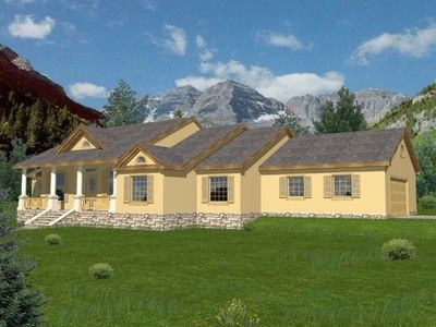 House Plan 001 2040