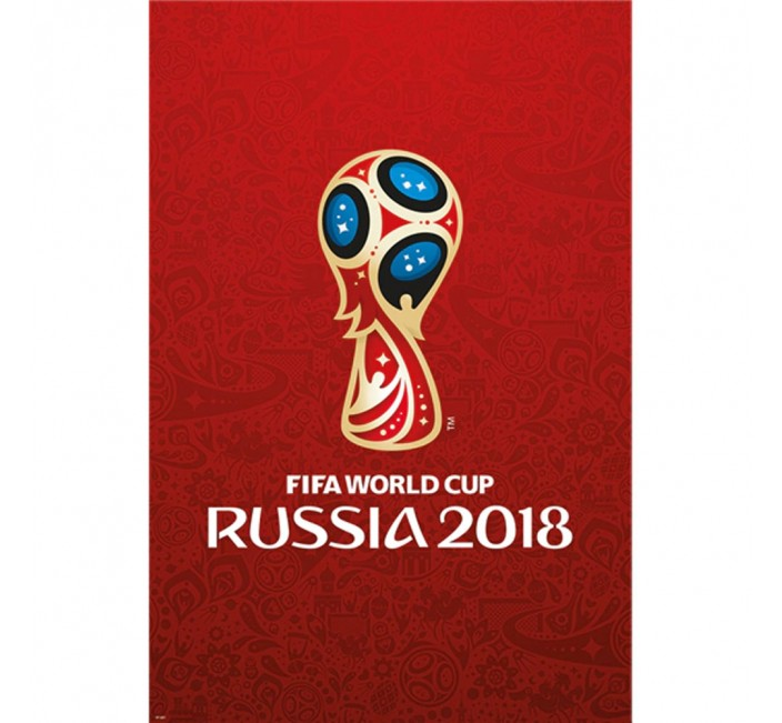 2018 Fifa World Cup Russia Logo Poster 24 X 48 In 2020 World Cup Fifa World Cup Fifa