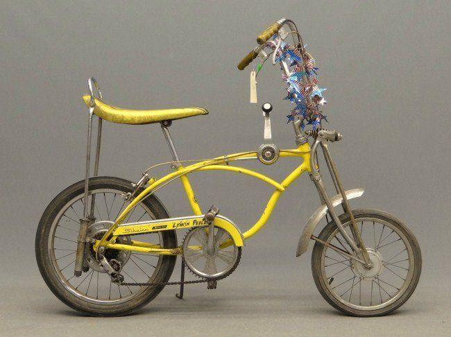 1970s Schwinn Stingrays 686 C 1970 Schwinn Stingray Lemon
