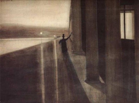 Léon Spilliaert, « Nuit » (1908)