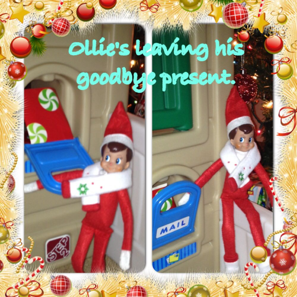 Ollie\'s saying goodbye until next year. We will miss you. Thanks for ...