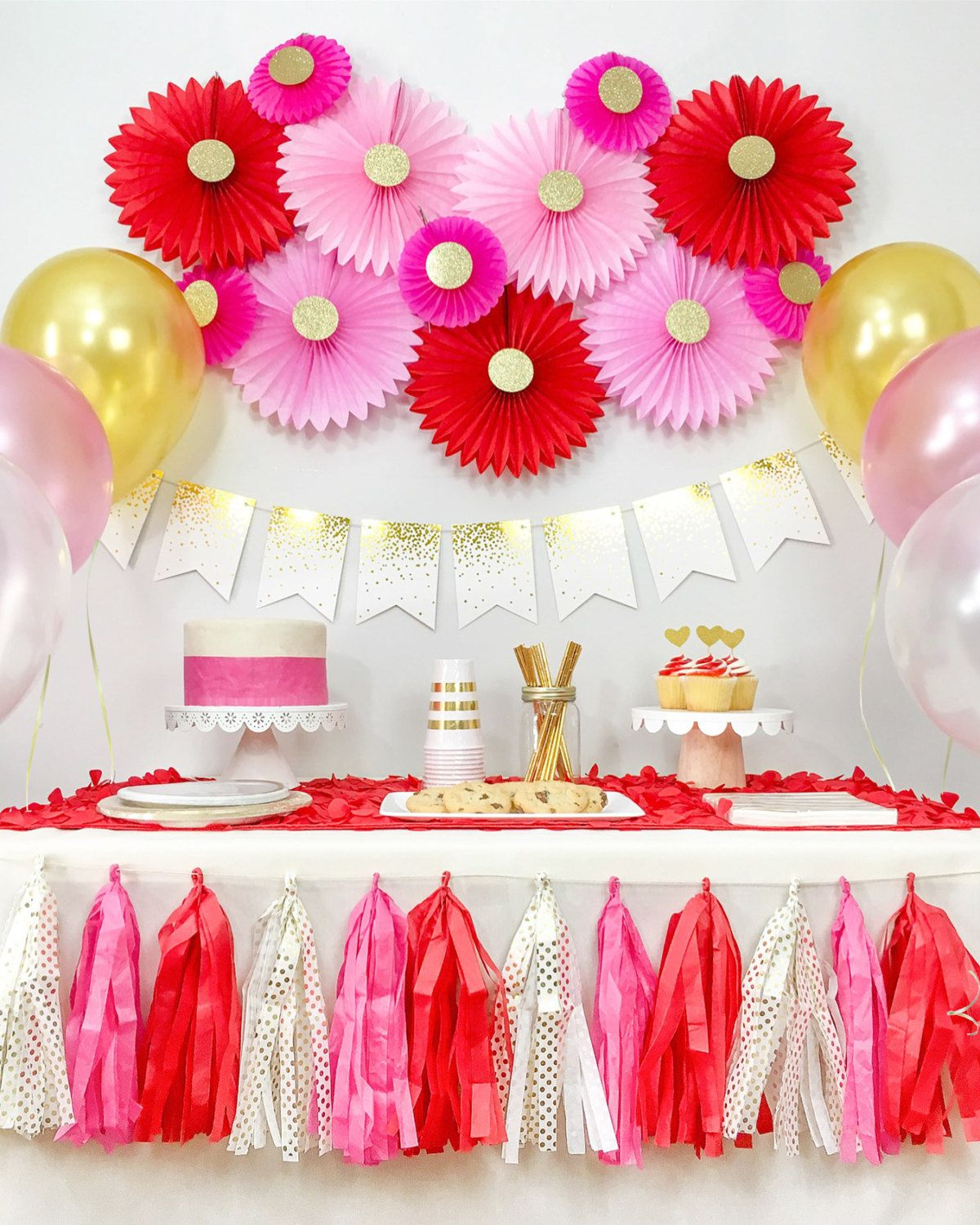 Birthday Party Decorations, Bridal Shower, Anniversary Decorations ...