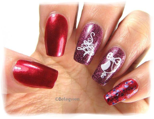 Nail Art by Belegwen: China Glaze Be Merry