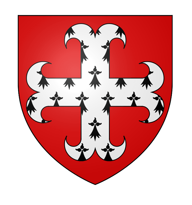 Coat of Arms of the Bec or Beke lineage. #Beclineage #Bekelineage #BaronsofEresby