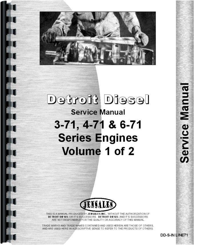 Wabco D Tractor Scraper Detroit Diesel Engine Service Manual Manual Minneapolis Moline Detroit Diesel
